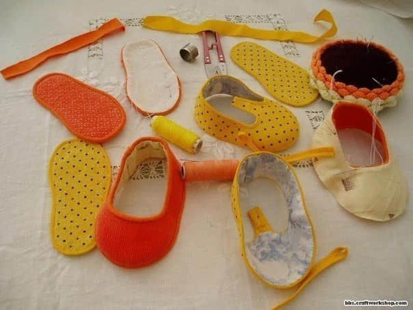 fde3c7160 Como hacer zapatitos para bebes con moldes04
