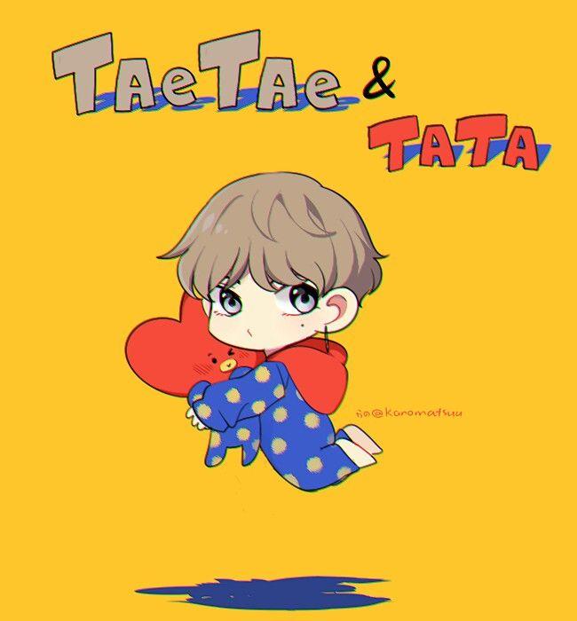 TaeTae & TaTa they are so cute... Hình ảnh, Ems