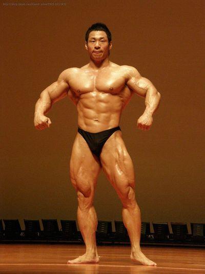 Park In Jung (박인정, Korean Bodybuilder) in 2009 Kwangmyeong