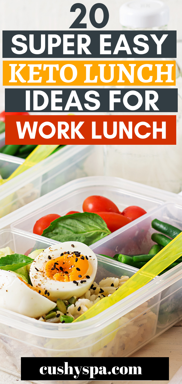 20 Super Easy Keto Lunch Ideas for Work Lunch images