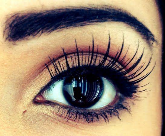 Miss Beauty: Natural eyes makeup