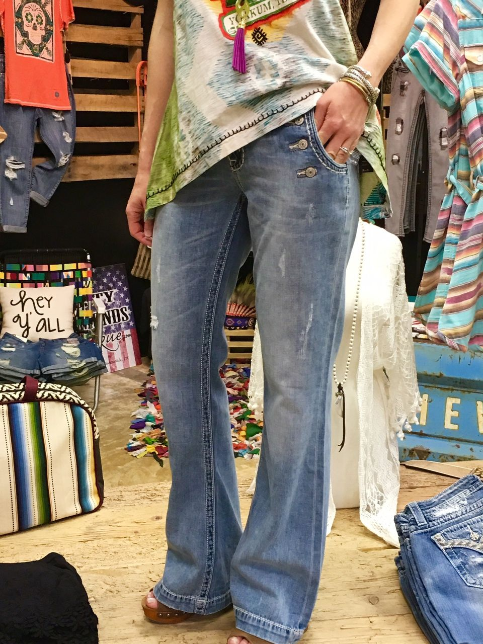 c6eb9bcc5caccb Miss Me Mid-Rise Wide Leg Trouser Jeans - Dusty Diamonds Boutique ...