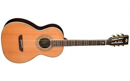 Washburn Parlor Wp26sns Natural Stain Guitare Folk Acoustique Guitare Acoustique Musique