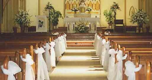 Church altar Wedding Decoration Ideas | Wedding Ideas | wedding ...