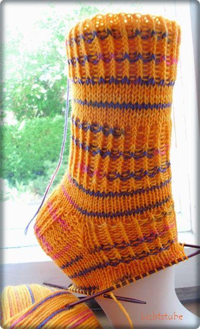 Photo of Jovanka's pattern 48 total stitches Needle: 2.5 Wool: Regia pattern: 15 …