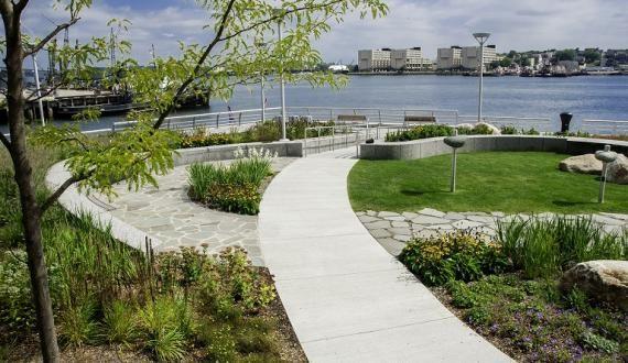 Designers Turn Landscape Architecture Up A Notch At Spaulding Rehabilitation