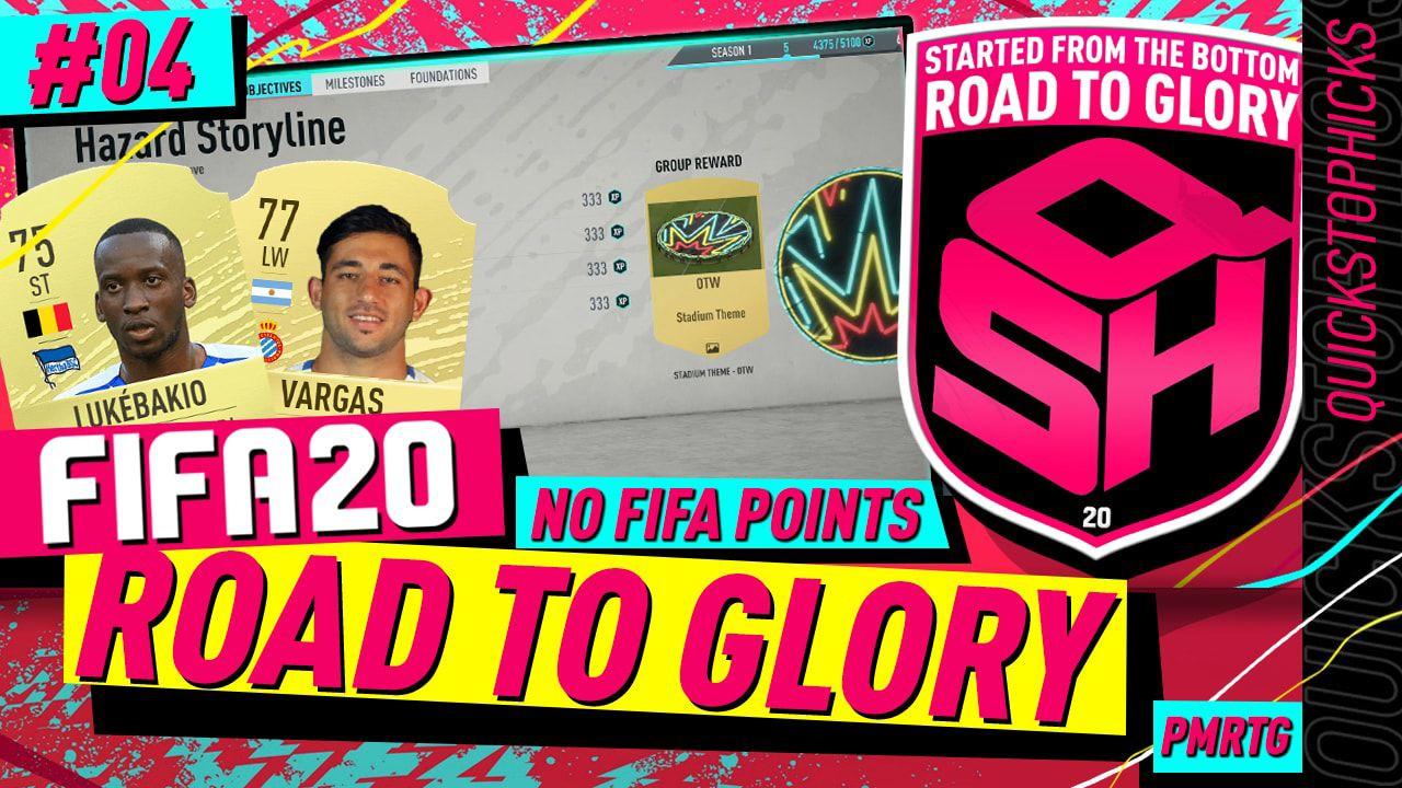 FIFA 20 ROAD TO GLORY 4 I STAMINA BUG I STORYLINE HAZARD
