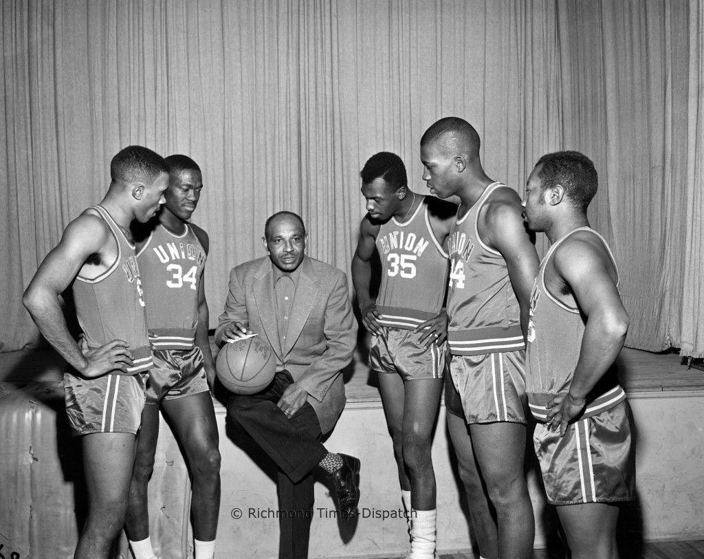 VUU Basketball 1956 PHOTO RTD STAFF In January 1956