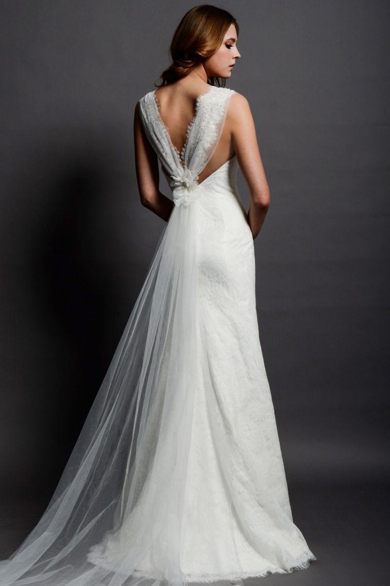 Eden bridal bl vintage backless wedding dress vintage bride