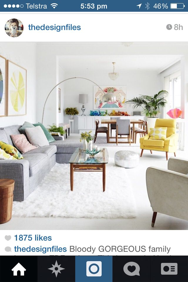 So fresh!! ) Decor collection Pinterest Living rooms, Room
