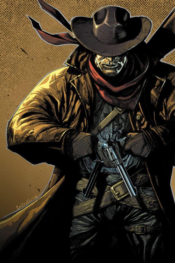 ef8ac11c397 gunslinger illustrations