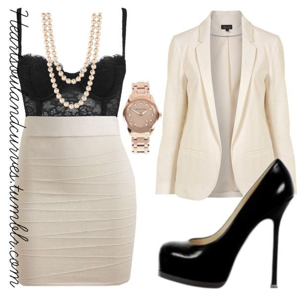 """""""Back To Basic..."""" by adoremycurves on Polyvore"""