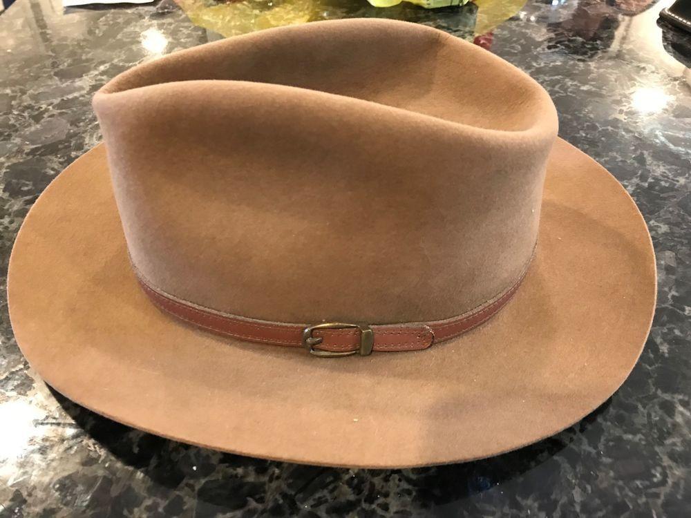 Vintage Royal Stetson Three Forks Cabelas Fedora Hat Size 7 5 8  fashion   18a4ad696b68