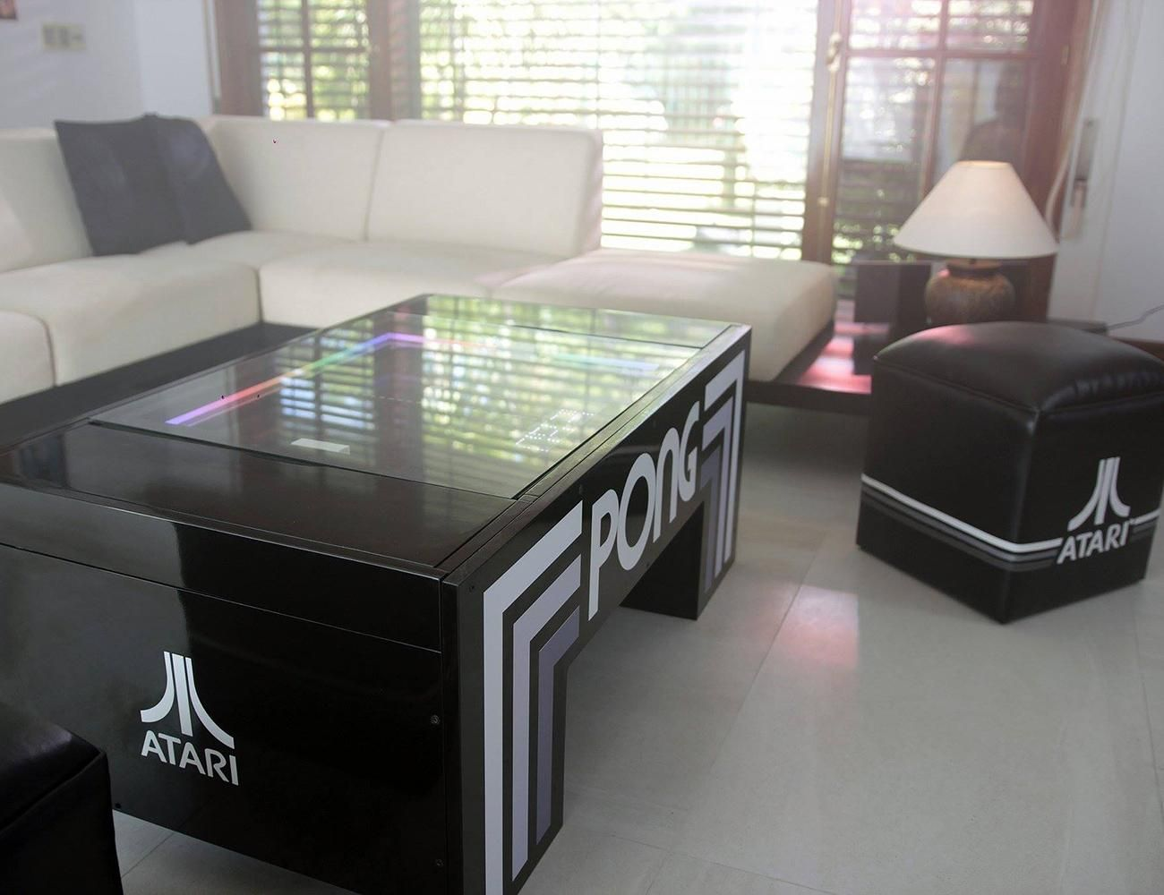 Atari Pong Multifunctional Coffee Table Decoracao