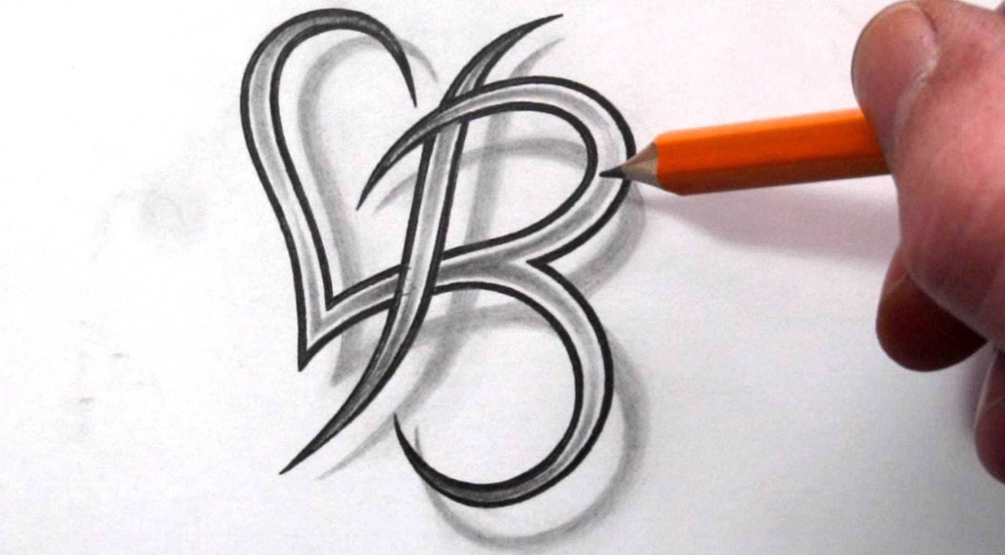 18 Letra b para tatuajes