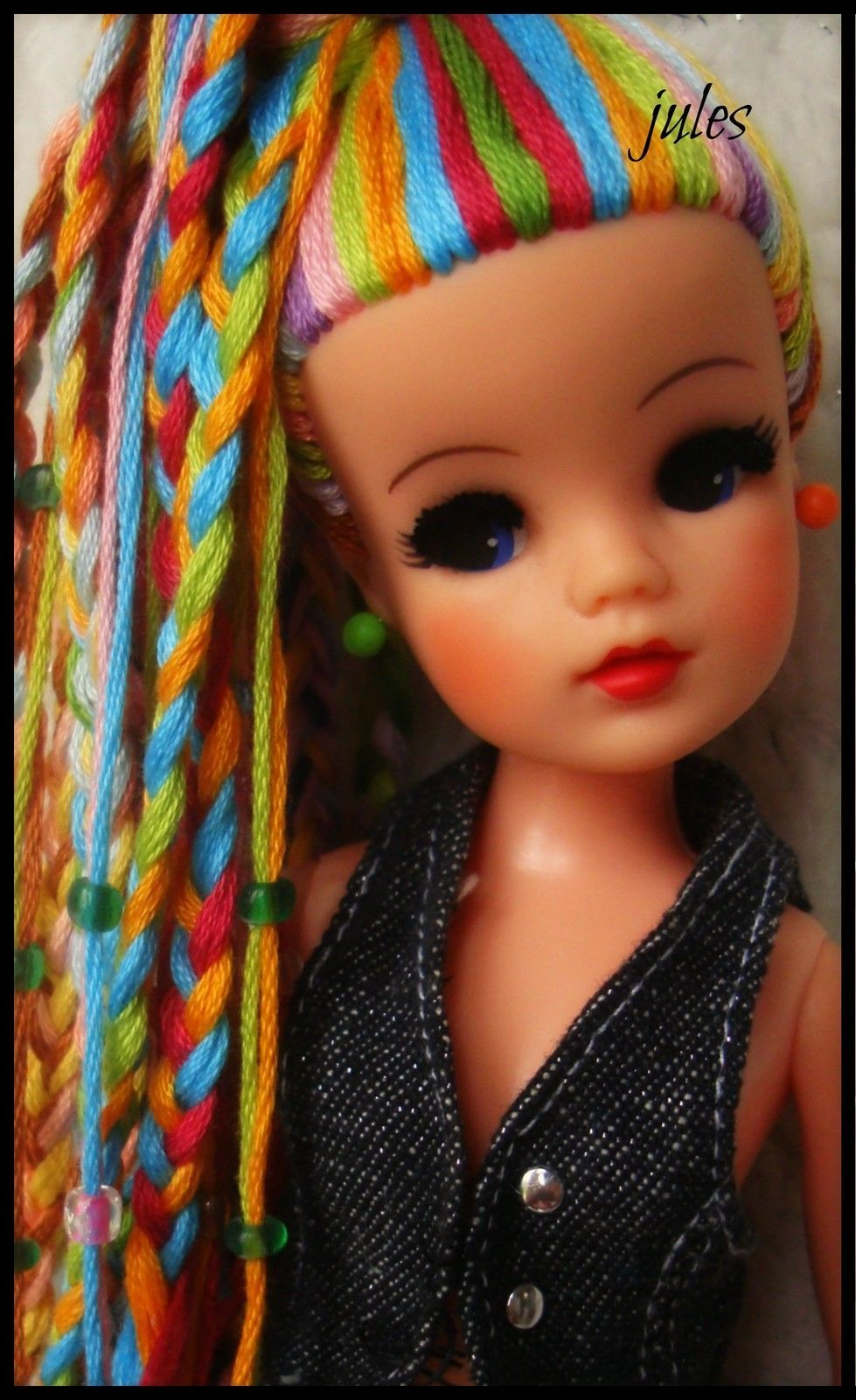 Pedigree Sindy Head by the very talented Jules No Body