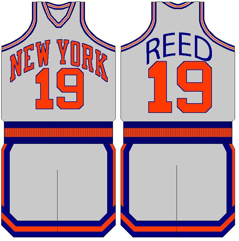 innovative design ba32d 5af9d Home uniform | 1969-70 New York Knicks | New york knicks ...