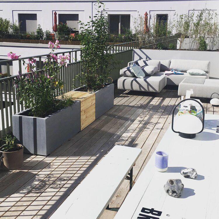 Dachterrasse/Balkon — Nelka – Dachterrasse, Balkon, Innenhof – Planung und Ausführung