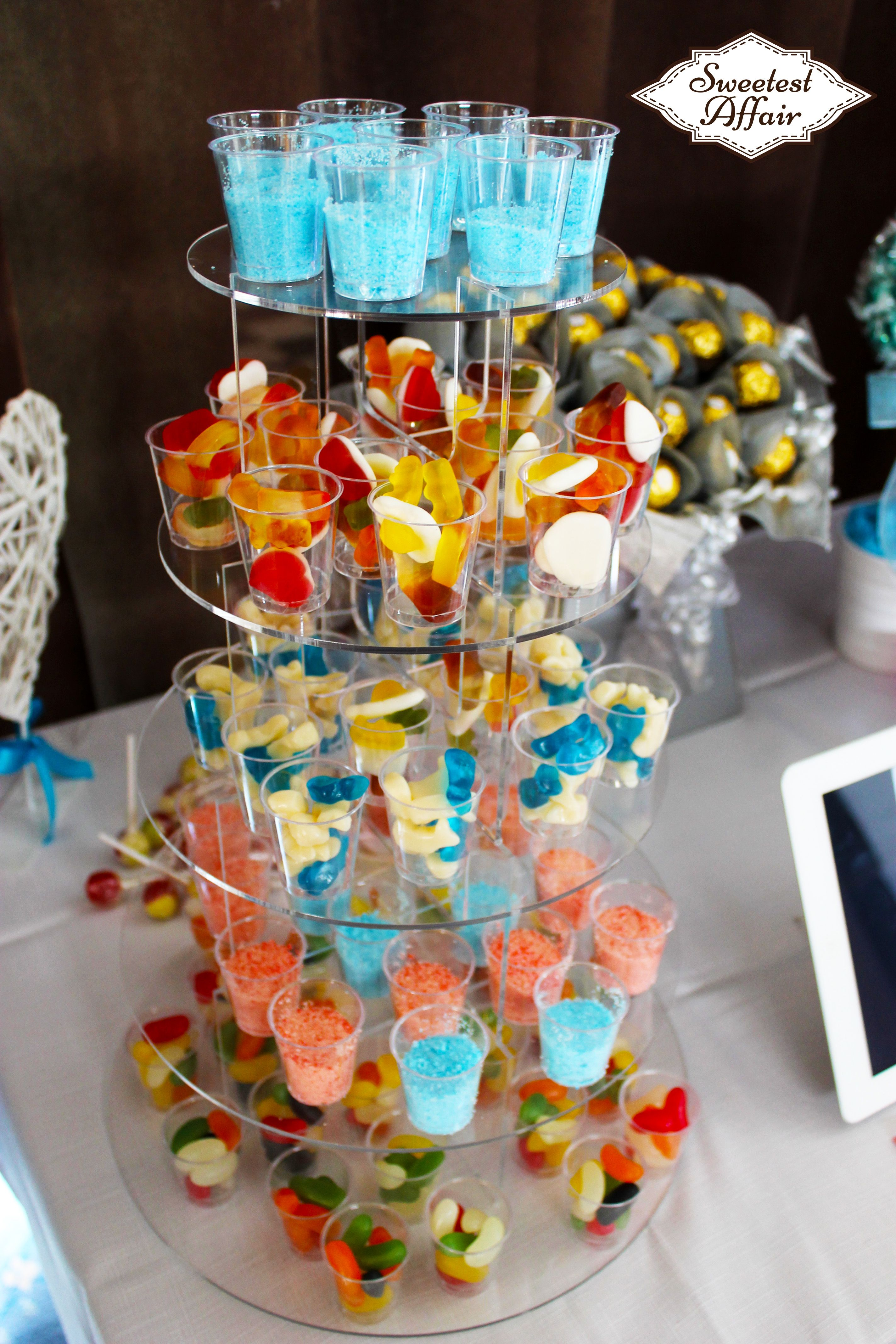 Our NEW Sweet Shot glass Tower! It's a great addition to