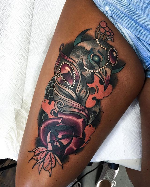 Monea Tattoos For Black Skin Skin Color Tattoos Dark Skin Tattoo