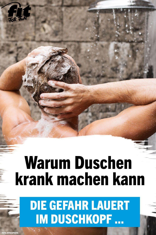 BakterienGefahr Duschen kann krank machen Gesundheit