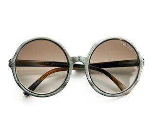 Tom Ford Carrie Round Sunglasses