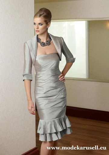 Abendkleid mit bolero jacke
