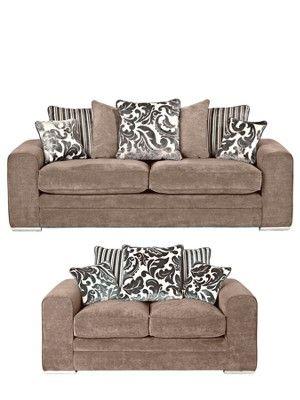 home brand ramada 3seater 2seater fabric sofa set buy and