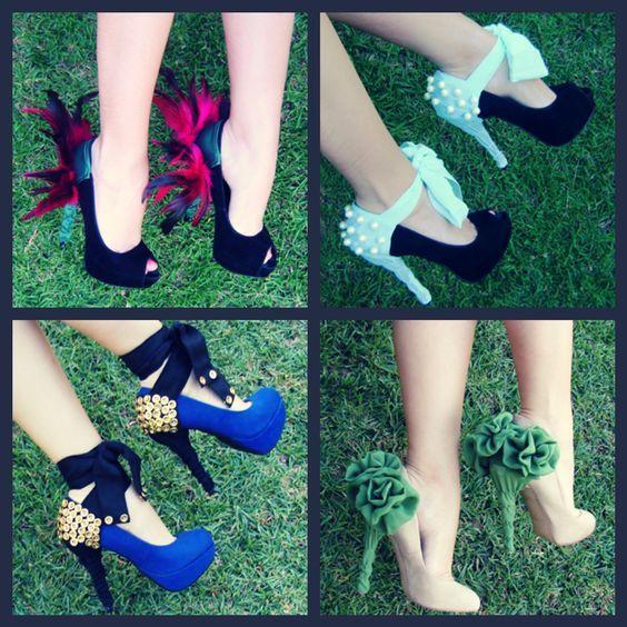 DIY Ruffle Shoes   Diy heels, Shoe makeover, Diy shoes heels