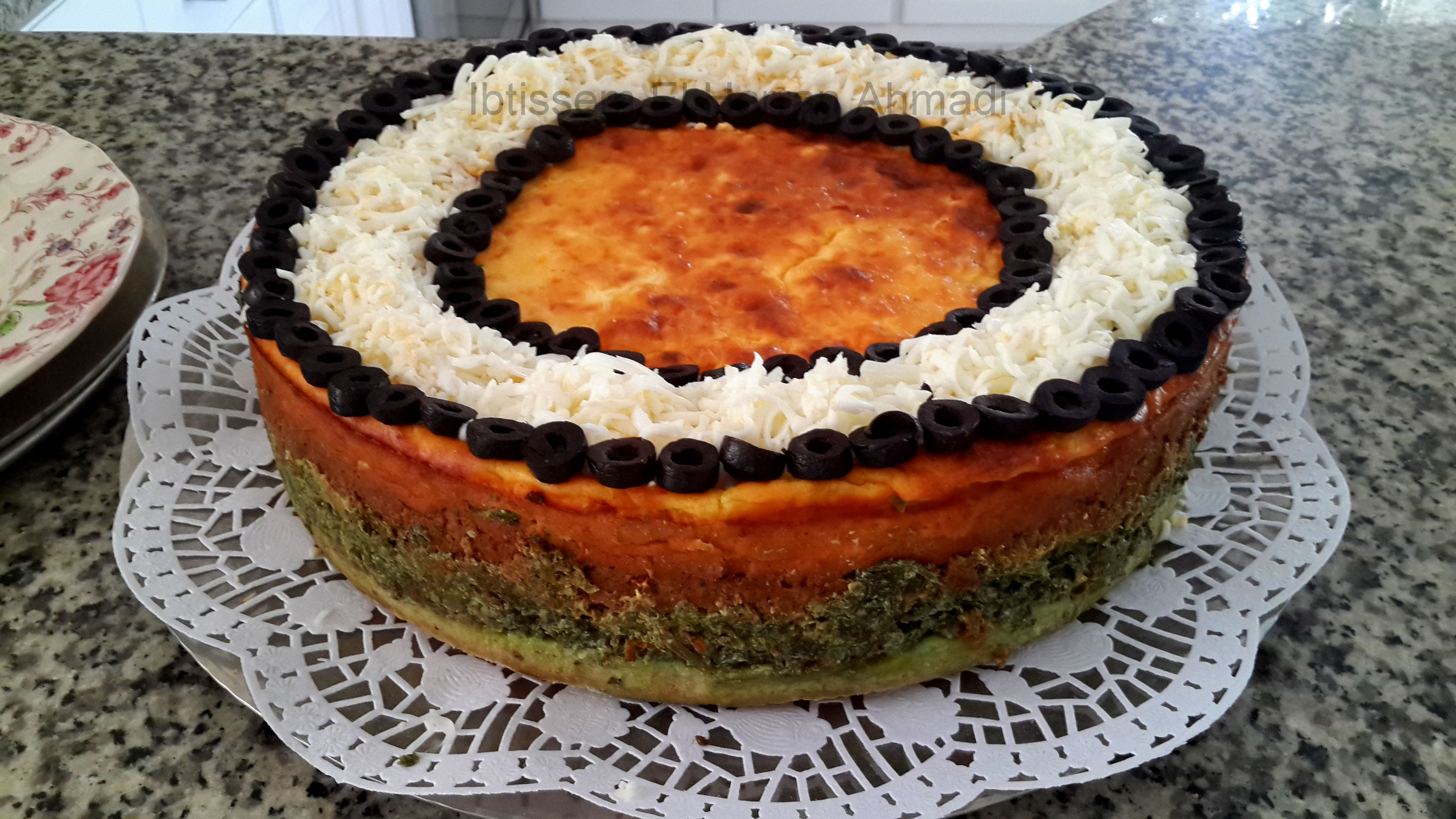 Tagine il bey sur son lit de pain recette tunisienne for Cuisine tunisienne