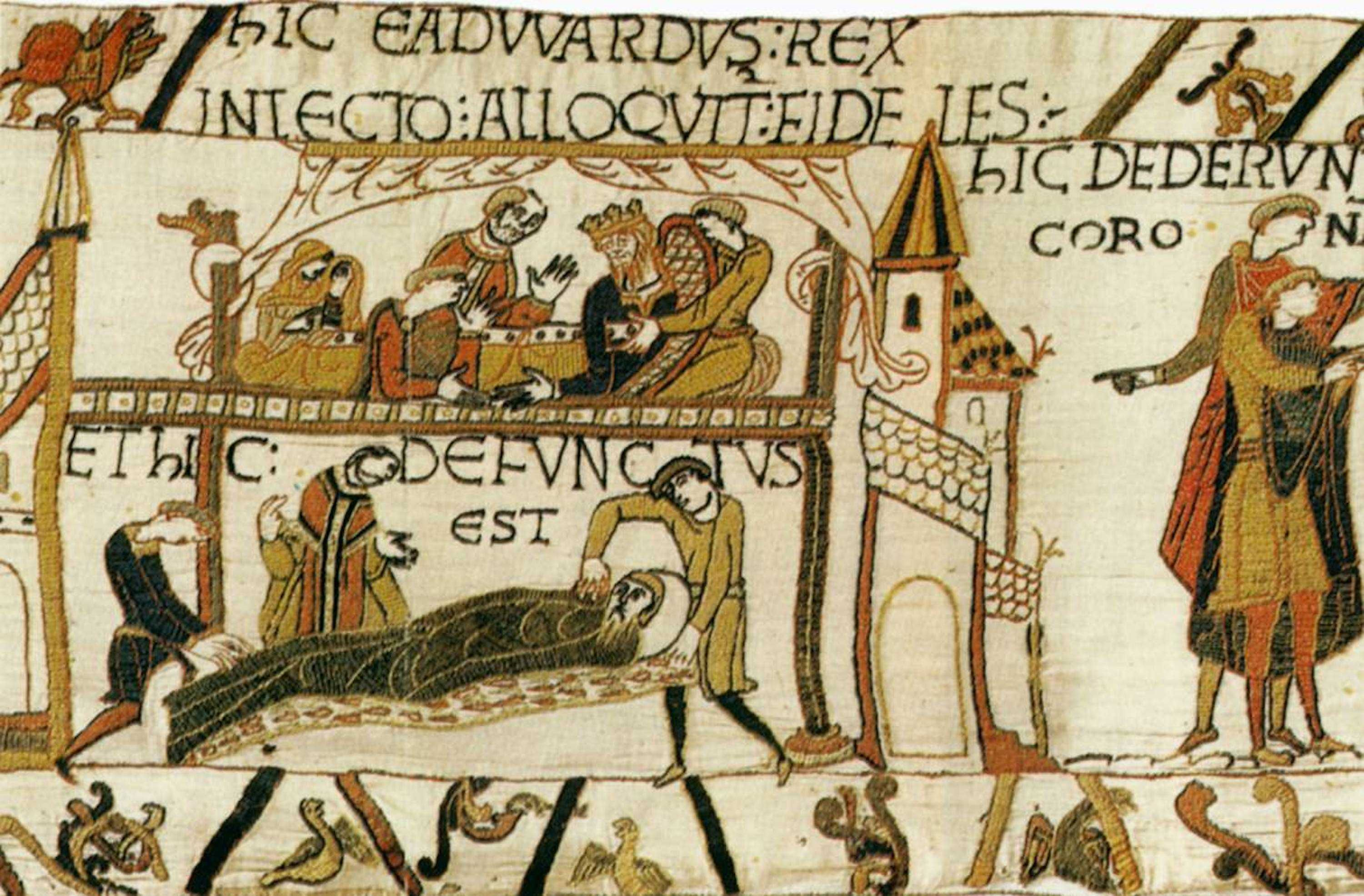 Tapestry_by_unknown_weaver_-_The_Bayeux_Tapestry_detail_-_WGA24166.jpg (3000×1971)