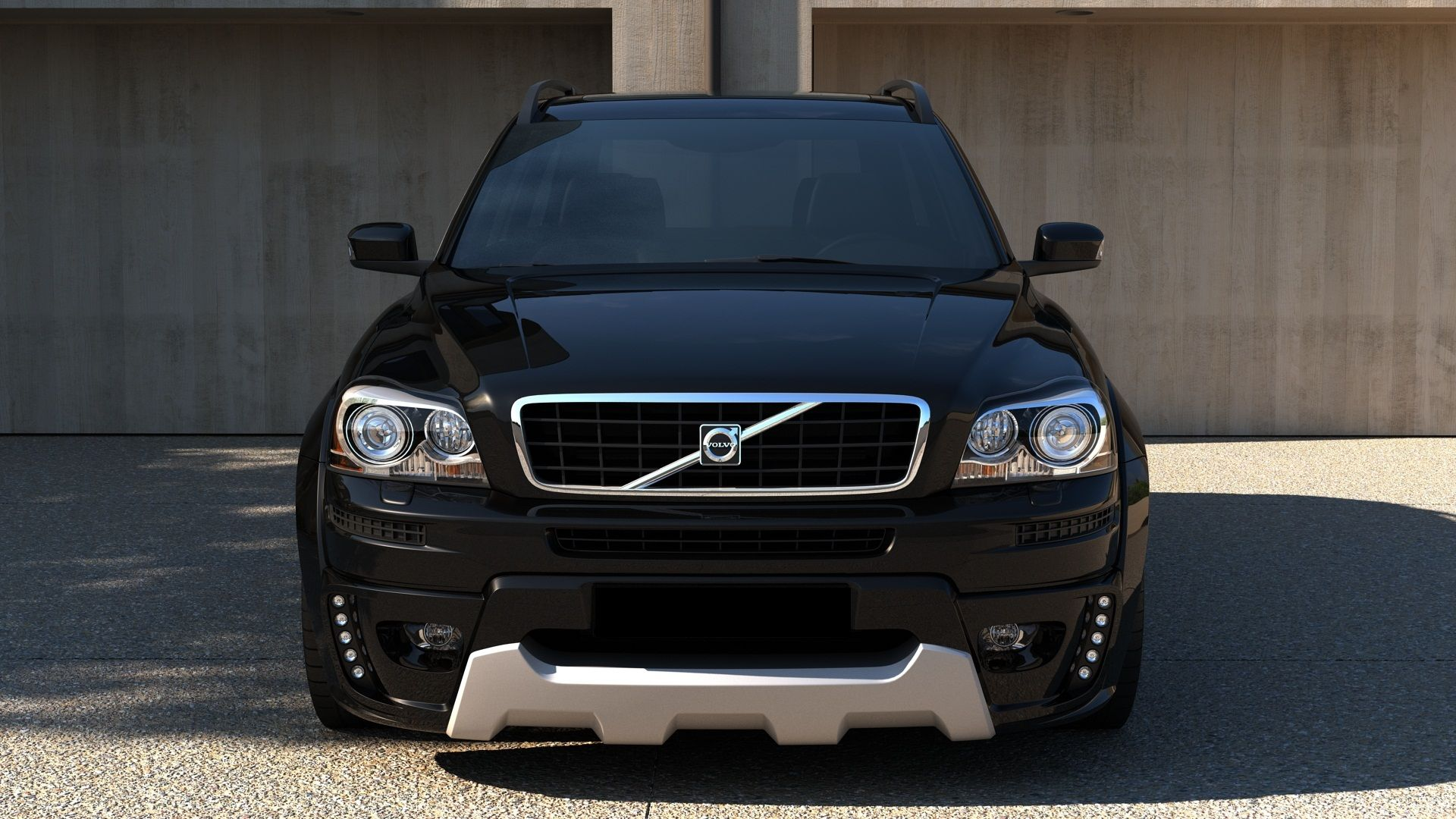hight resolution of tricked out volvo xc90