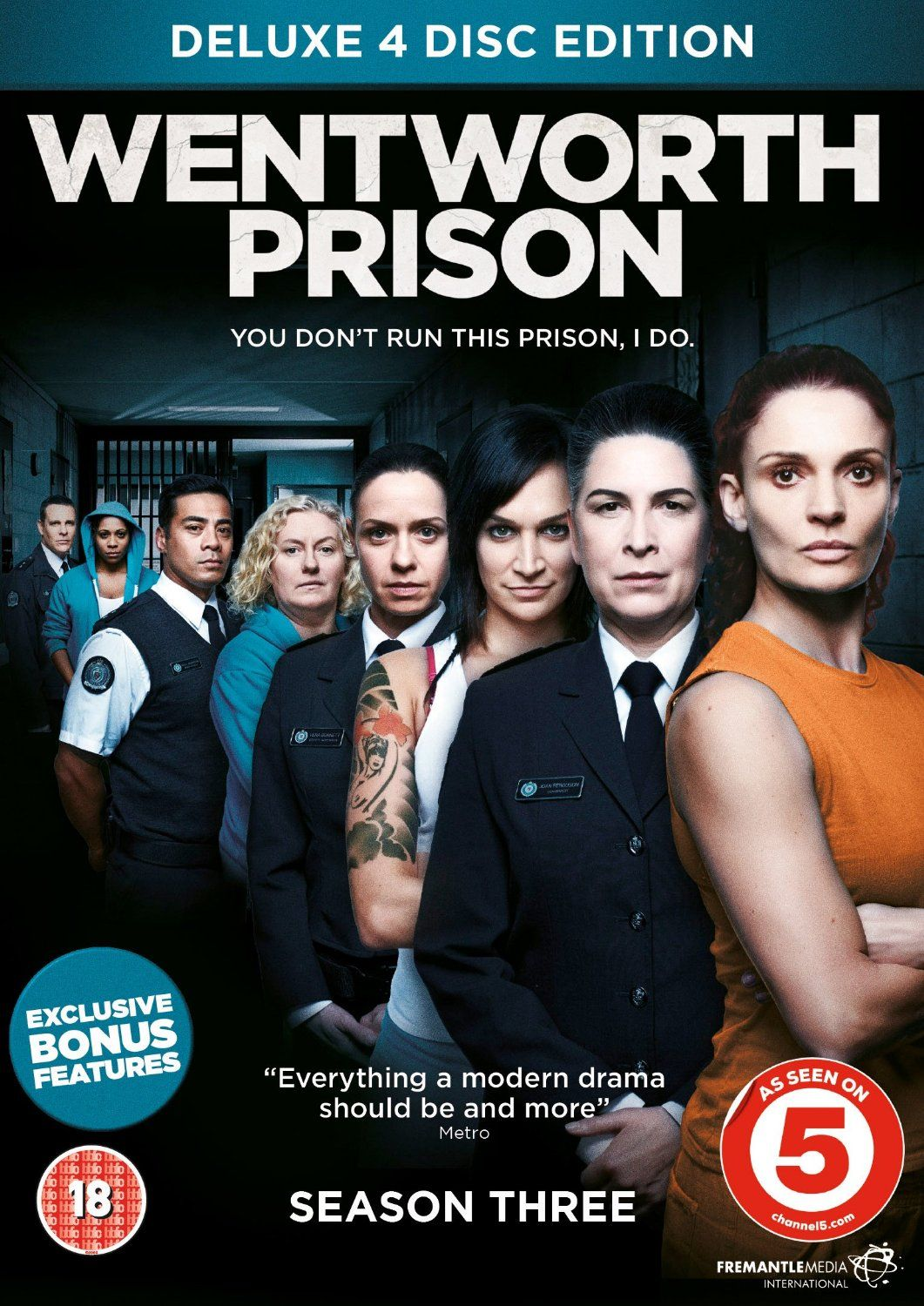 Wentworth Prison Season 3 [DVD] Amazon.co.uk Danielle