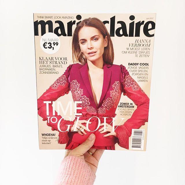 De nieuwe Marie Claire ligt vanaf morgen in de winkel!  #marieclaire #hannaverboom  via MARIE CLAIRE NL MAGAZINE MAGAZINE OFFICIAL INSTAGRAM - Celebrity  Fashion  Haute Couture  Advertising  Culture  Beauty  Editorial Photography  Magazine Covers  Supermodels  Runway Models