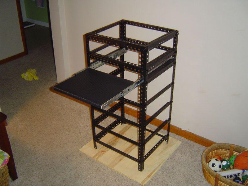 The Homemade Server Rack Project | DIY HOME SERVER | Pinterest | Tech