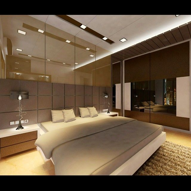 3d Render Of A Bedroom Designed By Mumbai India Based Interior