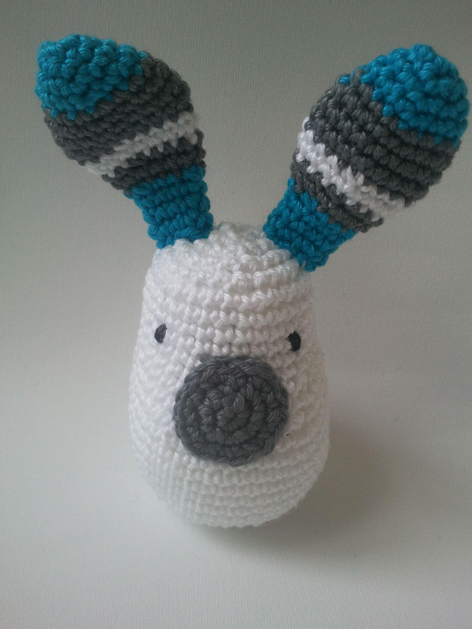 bunny, patroon van stipenhaak