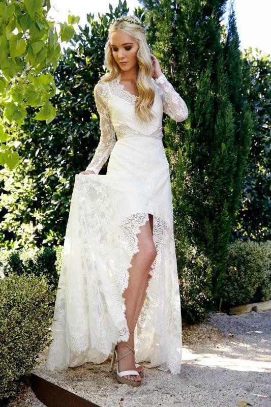 100 vestidos bohemios para novia. ¡Encontrarás el tuyo! | Vestidos ...