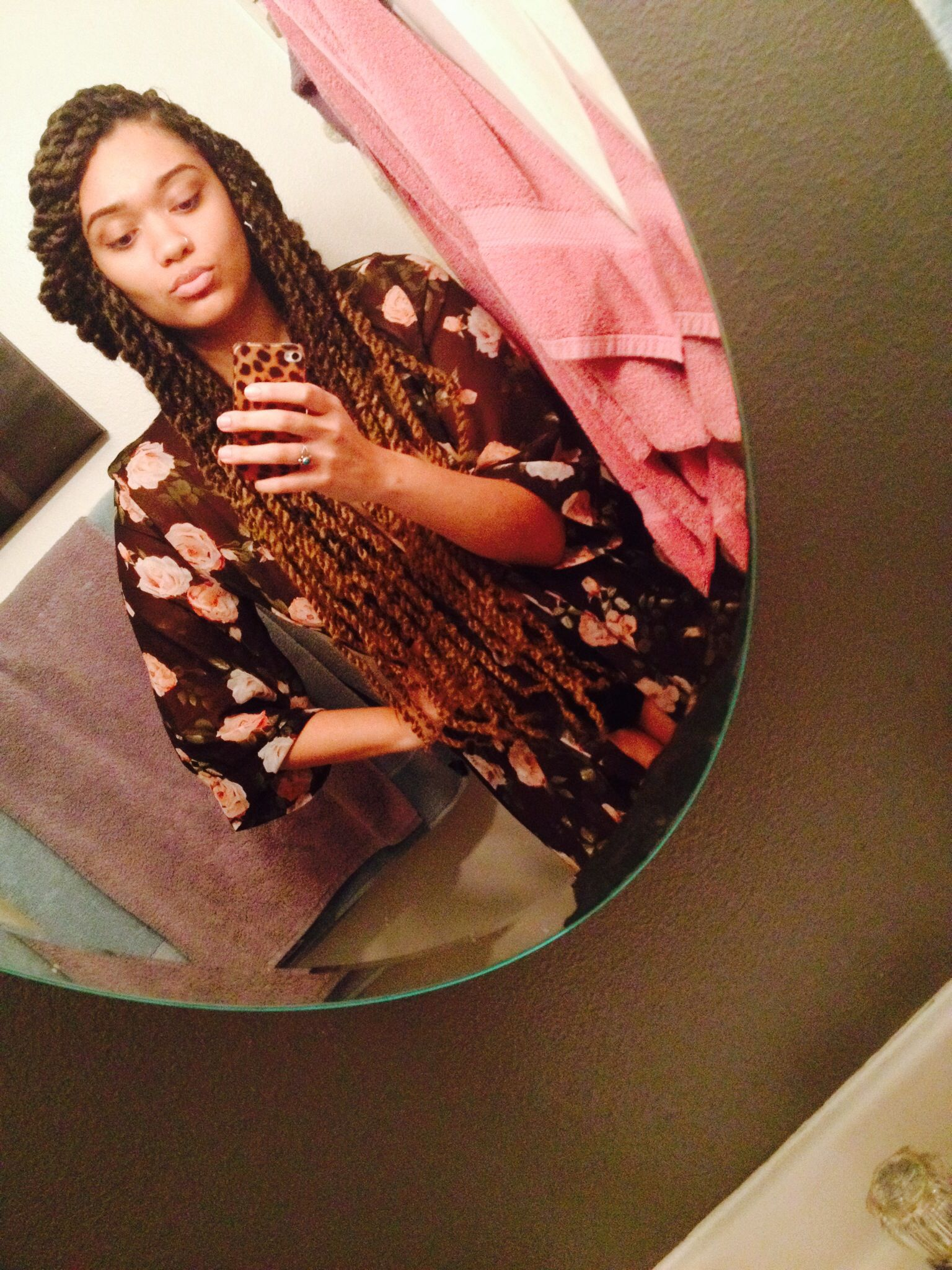 long ombr havana marley twists