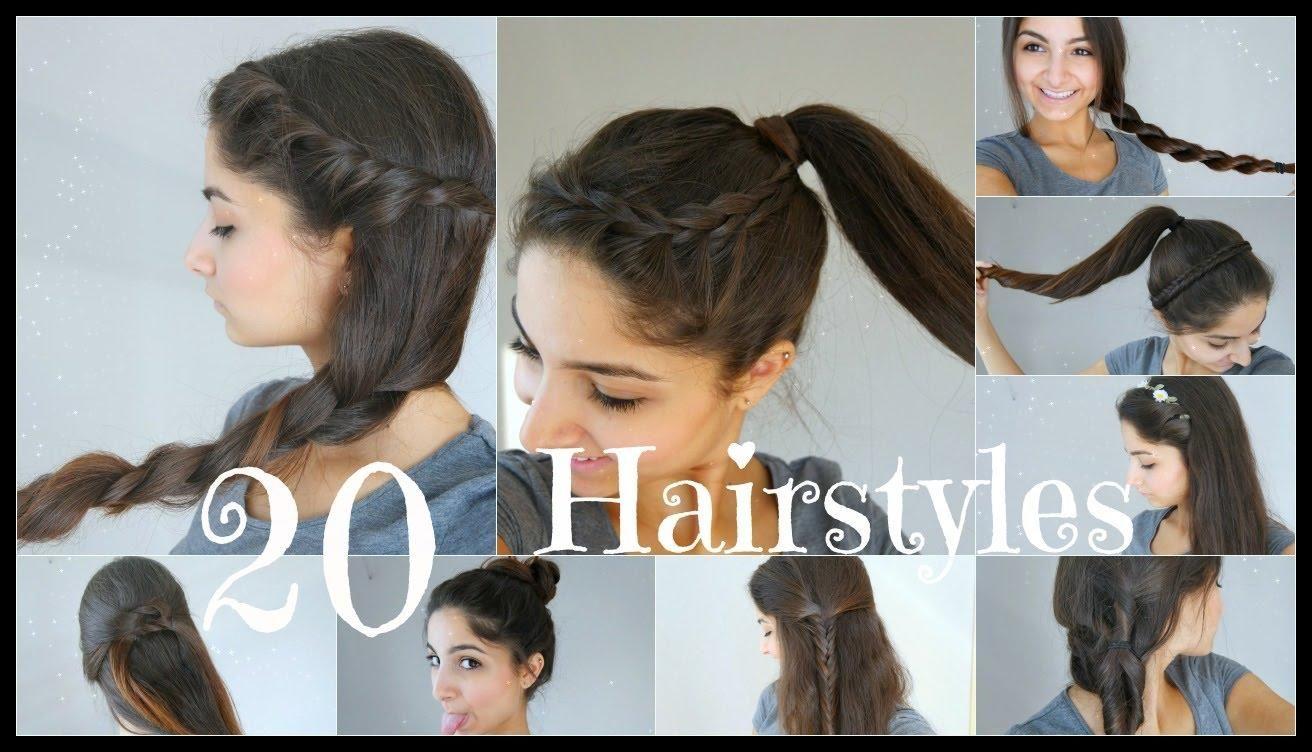 20 5 Minuten Frisuren Schnell Einfach Fur Schule Alltag