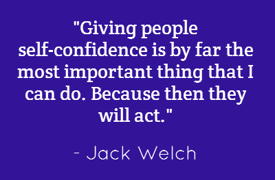 An important truth from one of of the great leaders of our time. Click here http://goo.gl/VGv6l to learn how to build your own self-confidence.