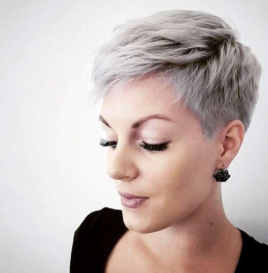 Short hairstyle haircuts pinterest fryzury