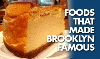 New York-Style Cheesecake from a Jewish deli -- Junior's -- in Brooklyn