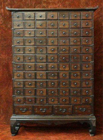 331 Antique Korean Traditional Doctor S Medicine Chest May 30 2012 Auctions At Showplace In Ny Asian Furniture Medicine Chest Antiques