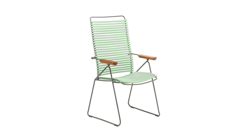 Houe Click Position Stuhl Dusty Light Green Outdoor Stuhle Stahlgestelle Und Design Bestseller