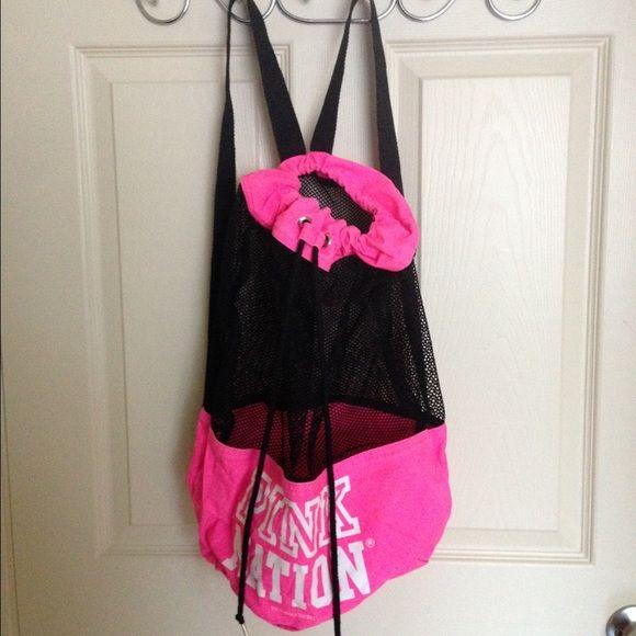VS PINK drawstring bag | D, Pink and Victoria secret bags