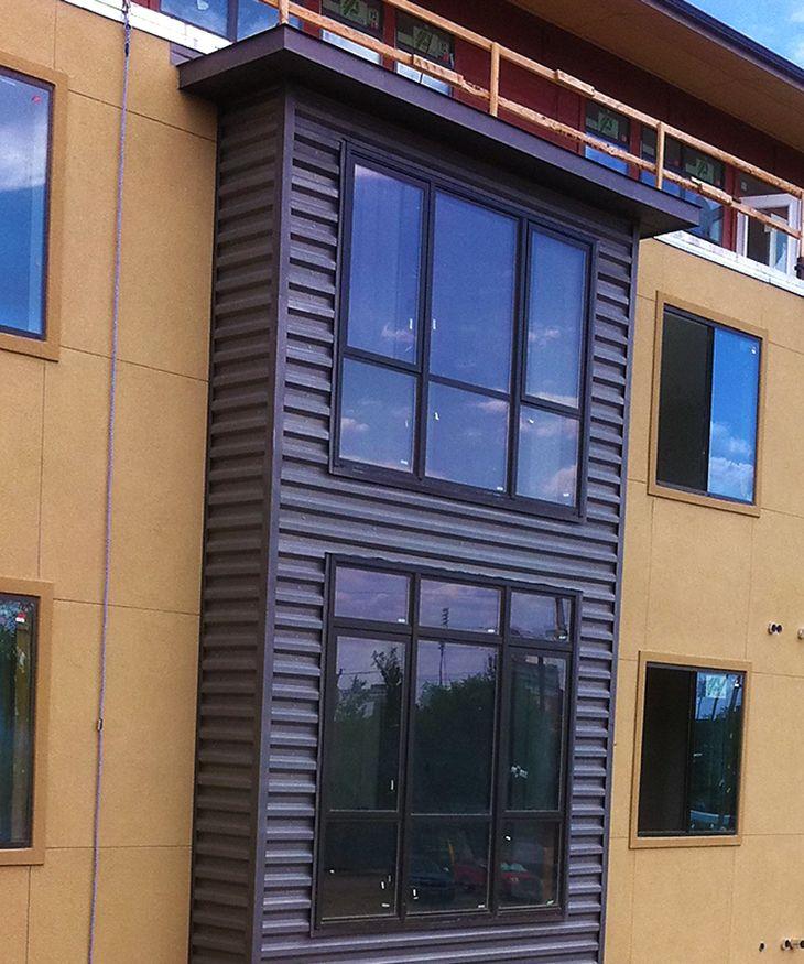 Western Rib Siding Bonderized Metal Roof Panels Metal Roof Roof Panels