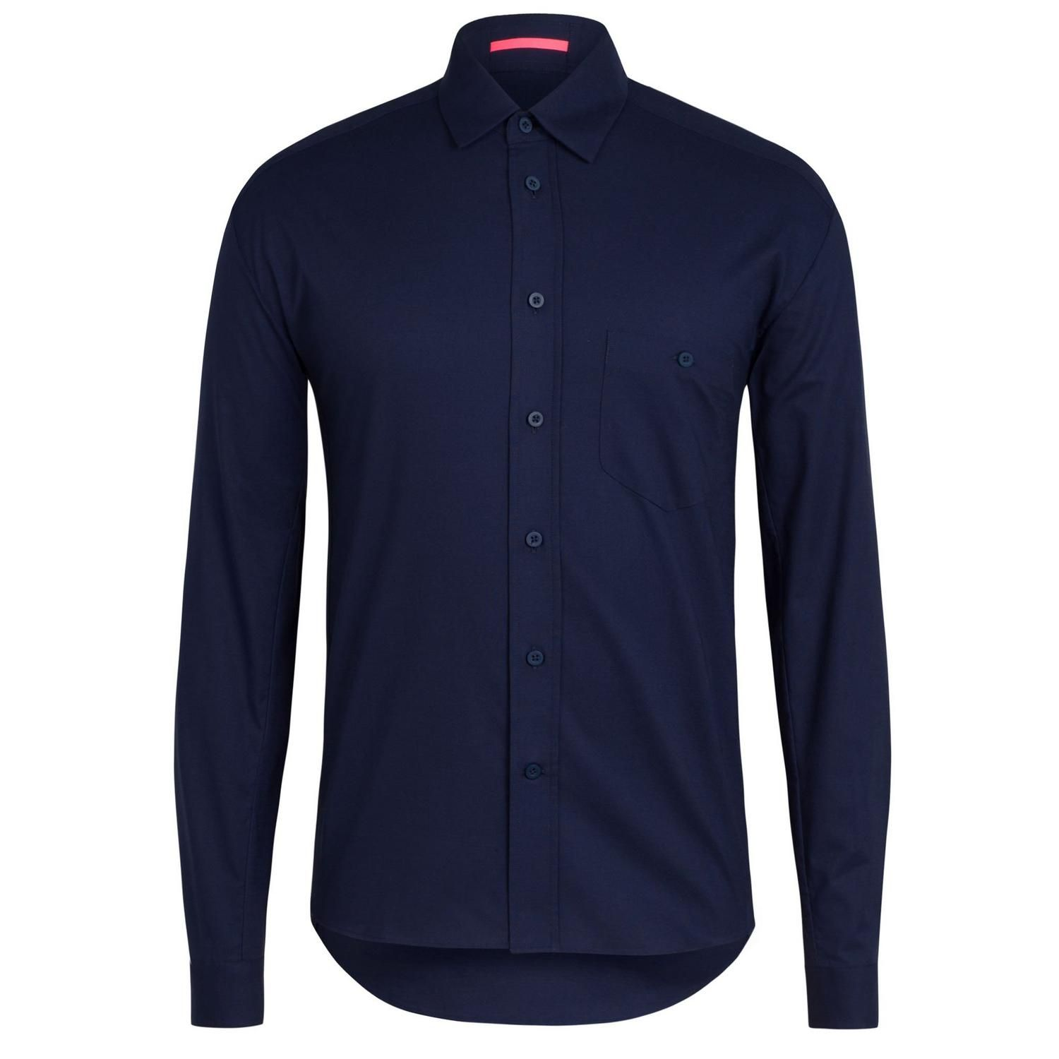 RAPHA Cotton Oxford Shirt Dark Navy OXS02XXDNY 1  93731391b