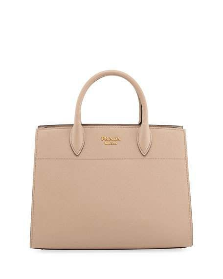 5b32017a06c4 New Women s Clothing at Neiman Marcus. PRADA Bibliotheque Large Saffiano Tote  Bag