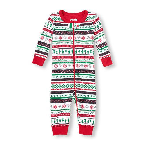 Long Sleeve Fair Isle Christmas Stretchie...this is sold out with ...